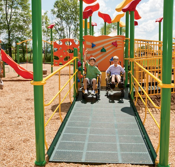 Accessible Playground 2 friends
