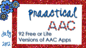 92 Free or Lite Versions of AAC Apps