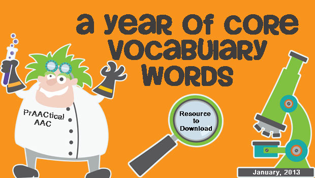 A Year of Core Vocabulary Words