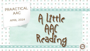 A Little AAC Reading