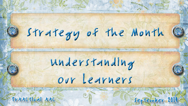 Strategy of the Month: Understanding Our Learners