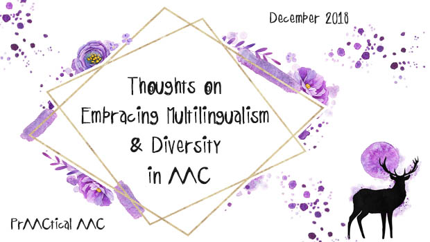 Thoughts on Embracing Multilingualism and Diversity in AAC
