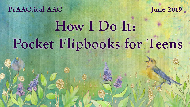 How I Do It: Pocket Flipbooks for Teens