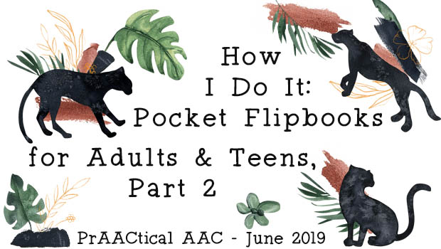 How I Do It: Pocket Flipbooks for Adults & Teens, Part 2