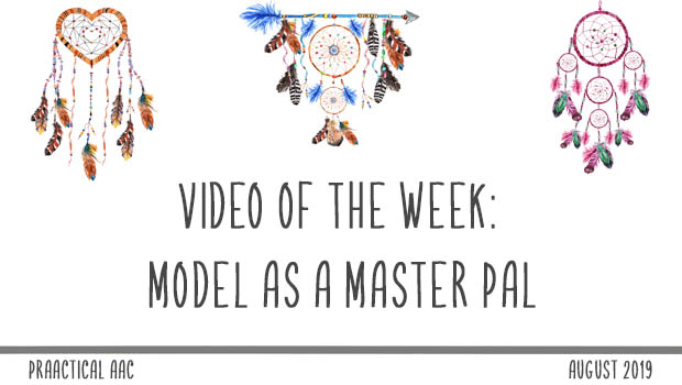 Decorative image reading Video of the Week: Model as a MASTER PAL
