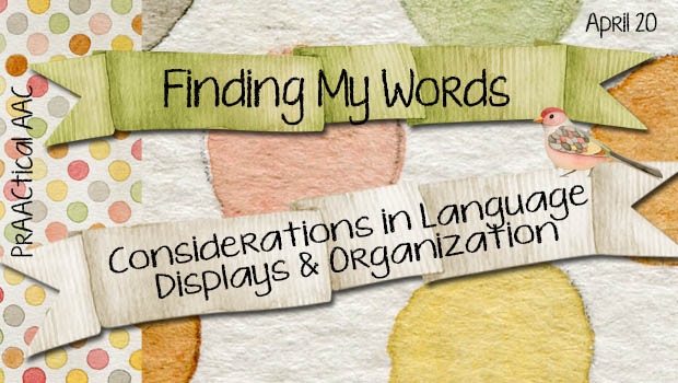 Considerations in Language Displays and Organization