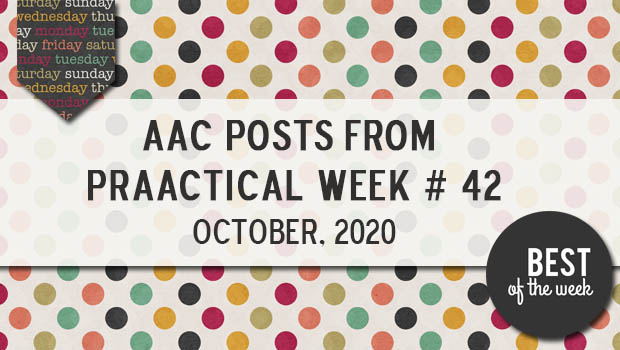 AAC Posts from PrAACtical Week #42: October 2020